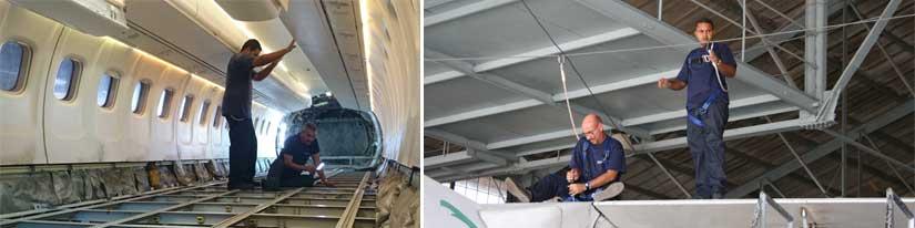 Reparaciones y mantenimiento GAM Aviation